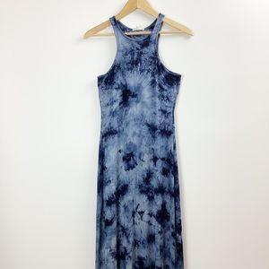 Rolla Coster Tank Top Tie Dye Boho Maxi Dress